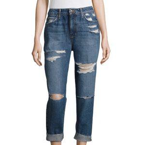 • RP • Joe's Jeans Boyfriend Distressed Denim 27